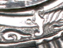 перекрестье эфеса сабли на пяте клинка заканчивается полусферой